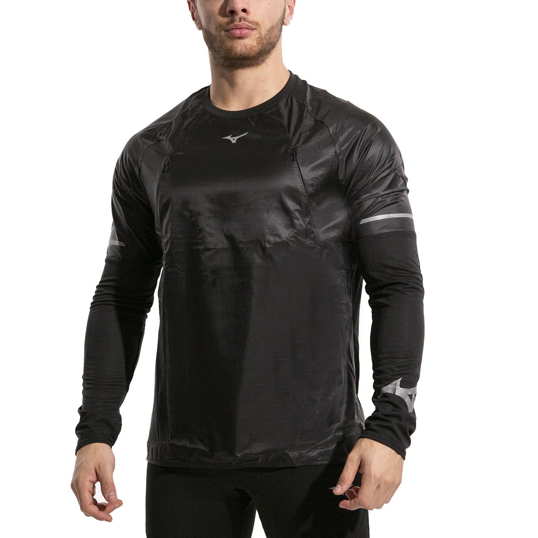 Mizuno Hineri Hybrid Shirt - Black