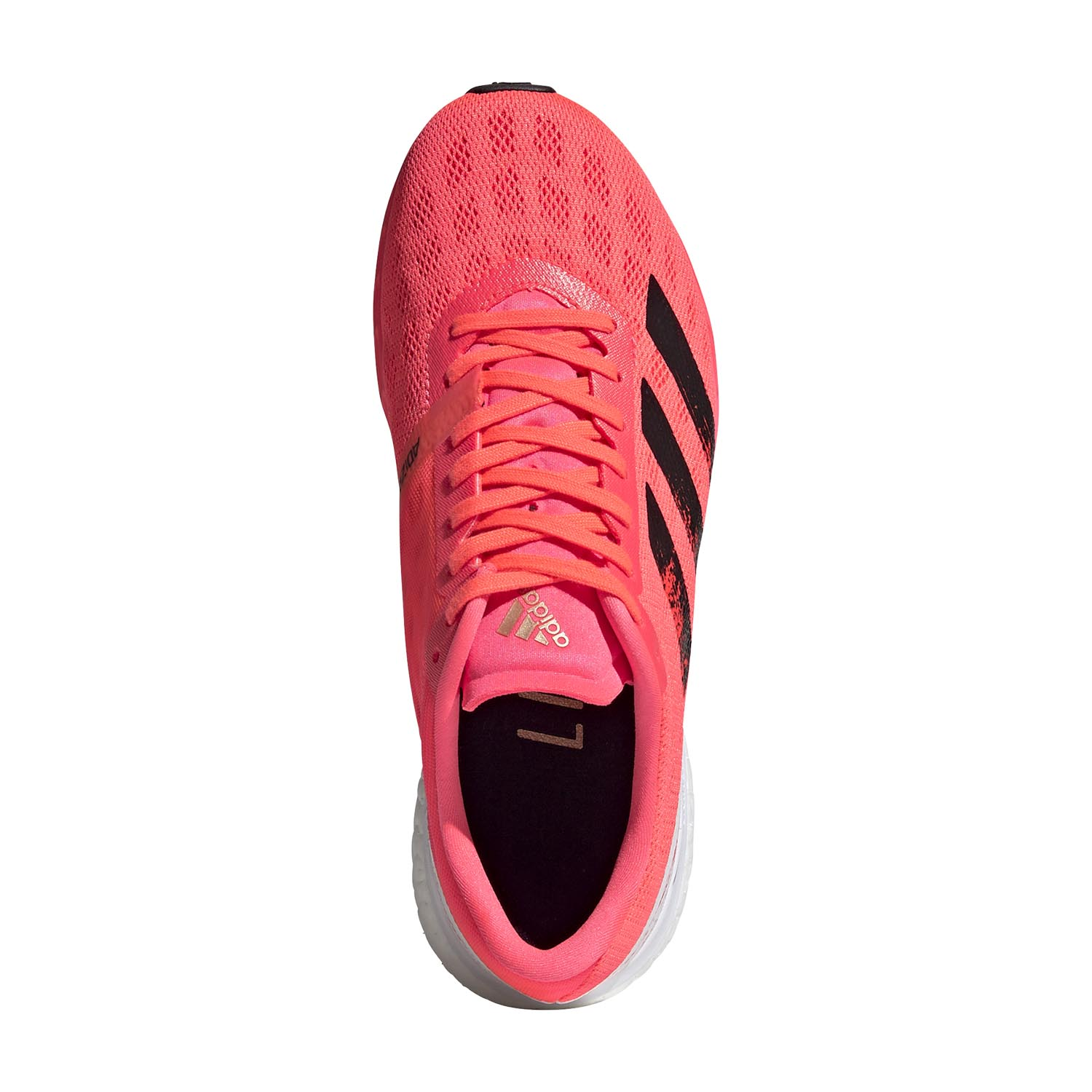 Adidas Adizero Boston 9 - Signal Pink/Core Black/Copper Met