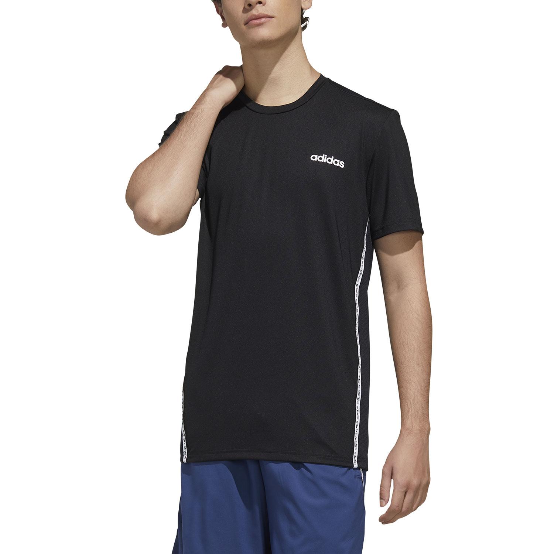 Adidas D2M Plane Mesh T-Shirt - Black/White