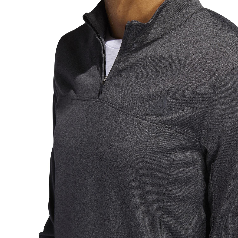 Adidas Own The Run Half Zip Shirt - Grey Six