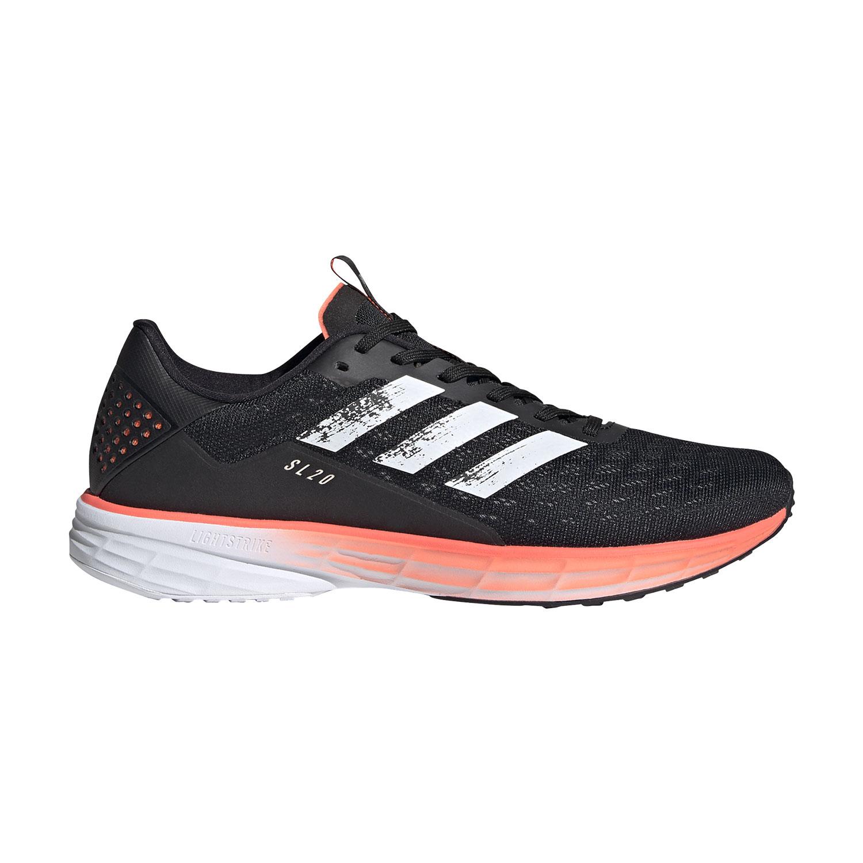 Adidas SL20 Scarpe da Running Uomo Core BlackSignal Coral