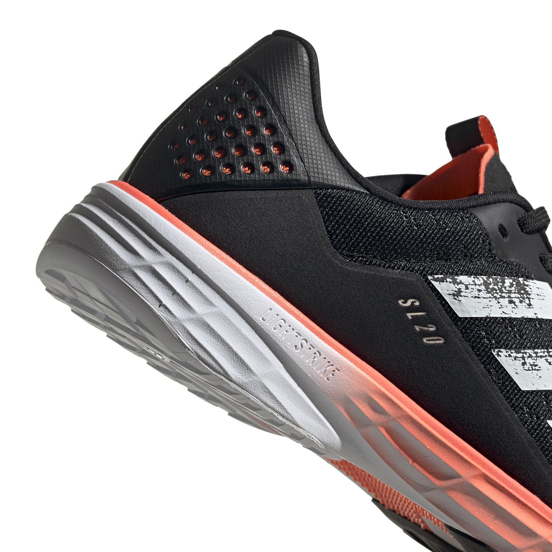 Adidas SL20 - Core Black/Ftwr White/Signal Coral