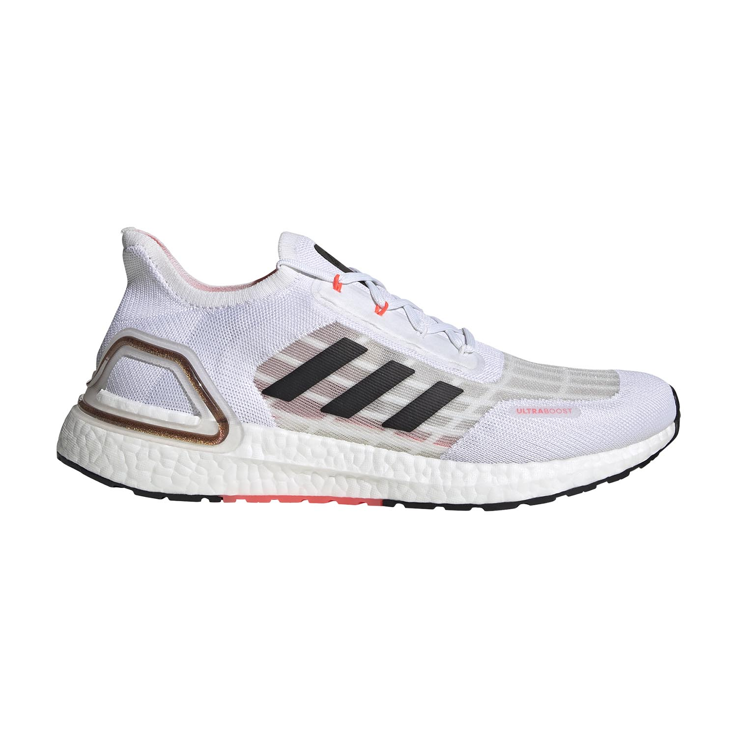 Adidas Ultraboost S.RDY - Ftwr White/Core Black/Signal Pink