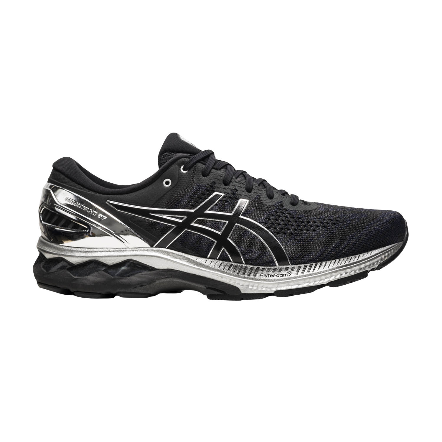 Asics Gel Kayano 27 Platinum - Black/Pure Silver