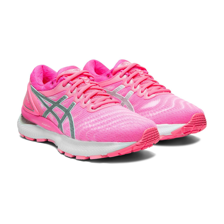 Asics Gel Nimbus 22 - Hot Pink/Pure Silver