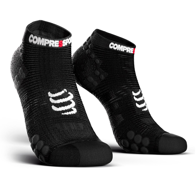Compressport Pro Racing V3.0 Run Low Calcetines - Black