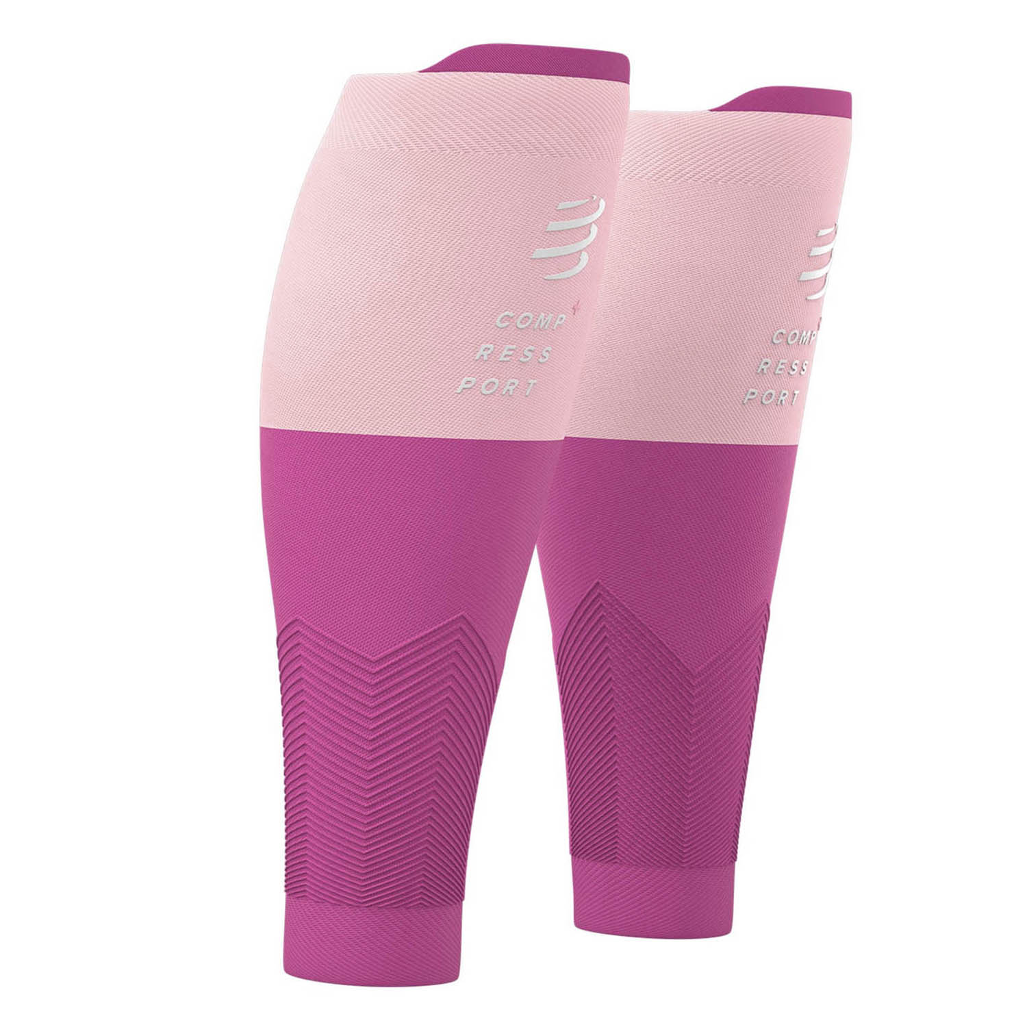 Compressport R2V2 Calf Sleeves - Pink