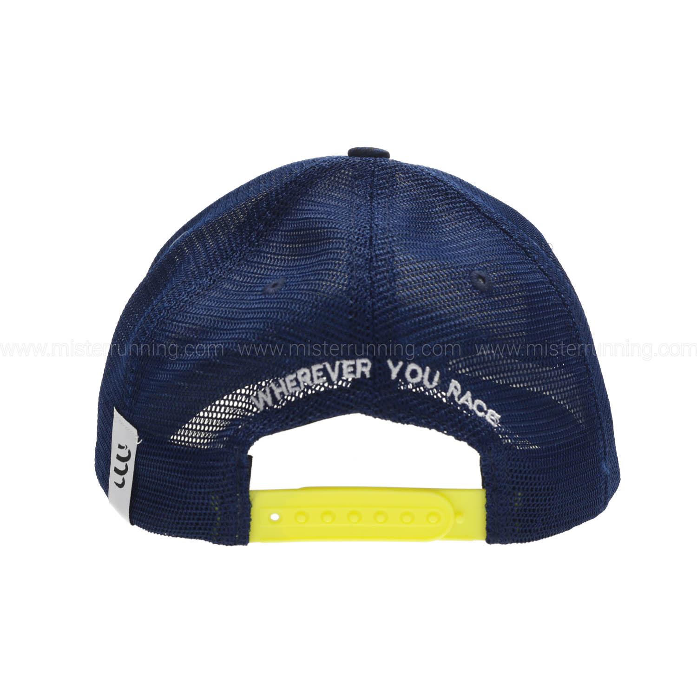 Compressport Trucker Gorra - Blue Lime