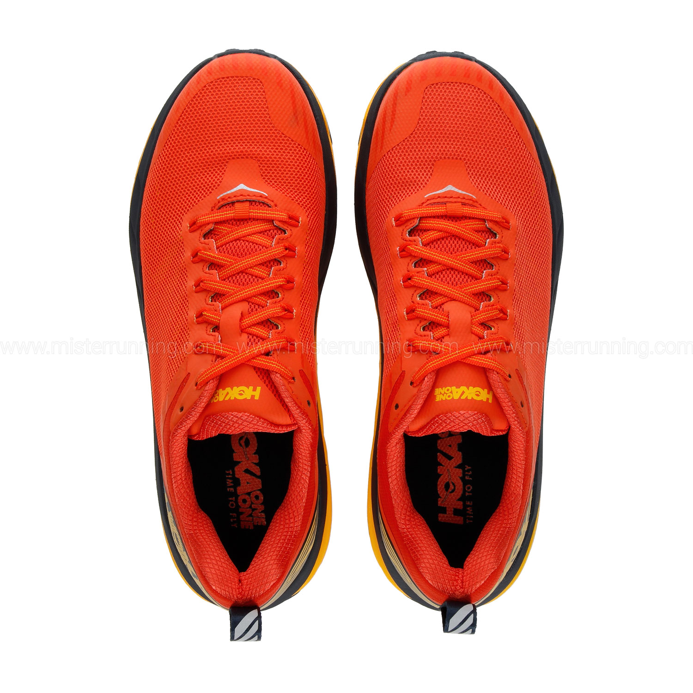 Hoka One One Challenger Atr 5 - Mandarin Red/Black Iris