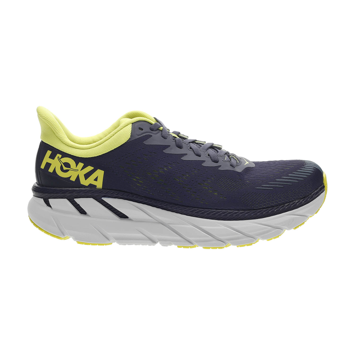 Hoka One One Clifton 7 - Odyssey Grey/Evening Primrose