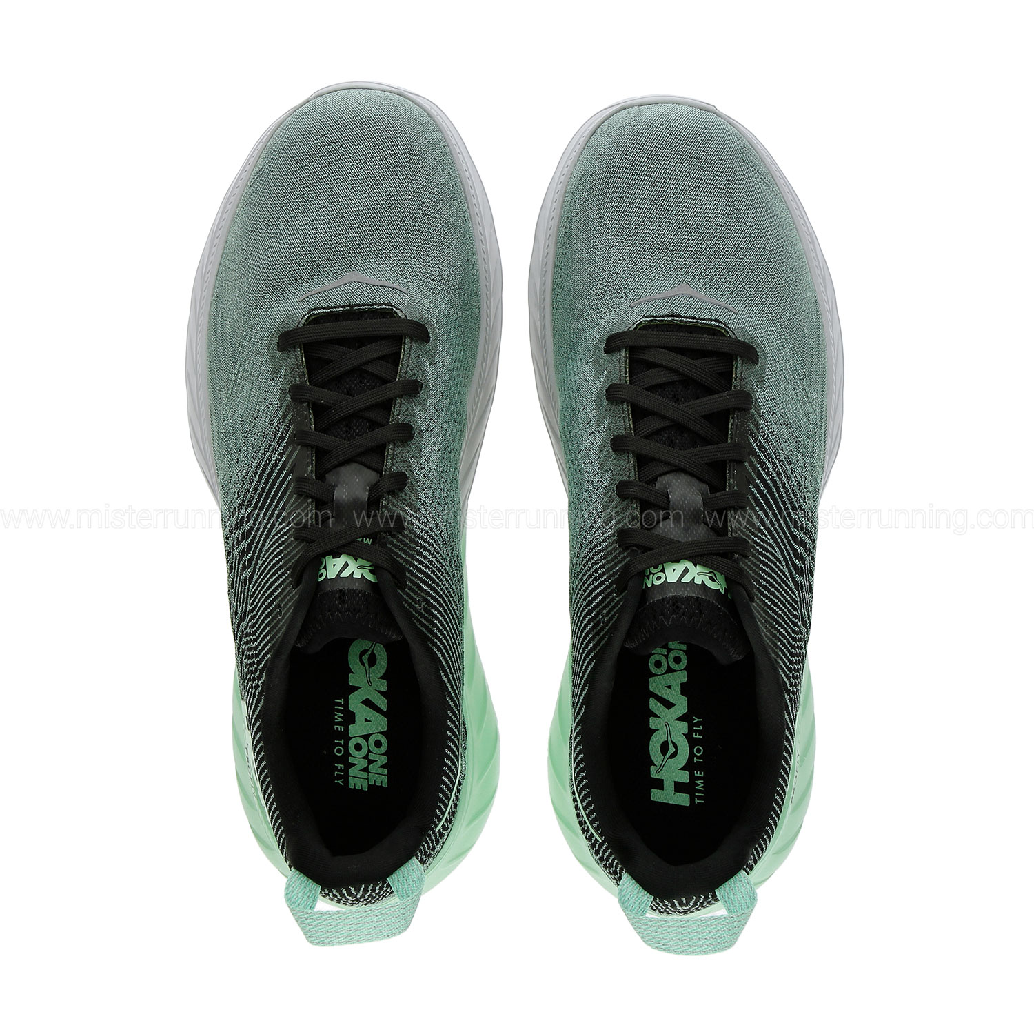 Hoka One One Mach 3 - Green Ash/Black