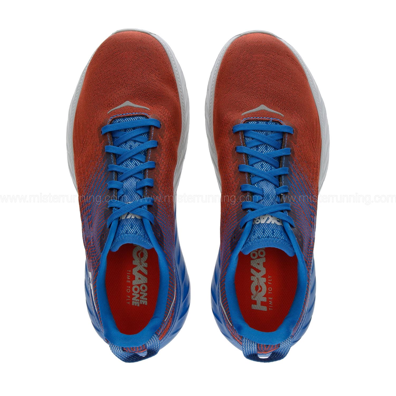 Hoka One One Mach 3 - Imperial Blue/Mandarin Red