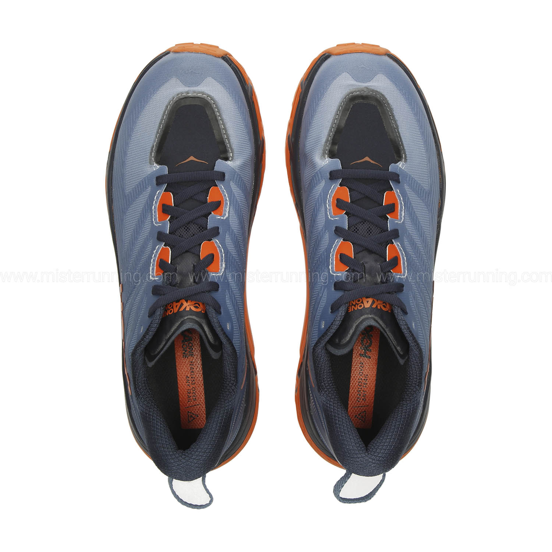 Hoka One One Mafate Speed 3 - Provincial Blue/Carrot