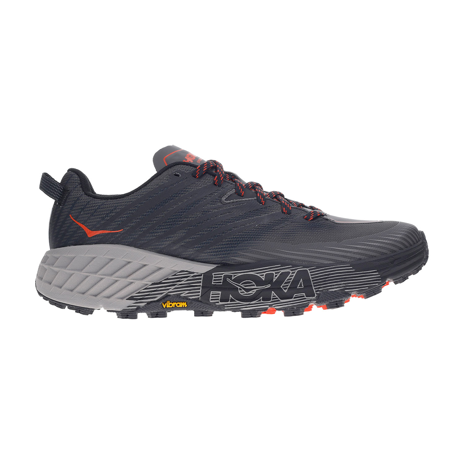Hoka One One Speedgoat 4 - Dark Gull/Grey Antracite