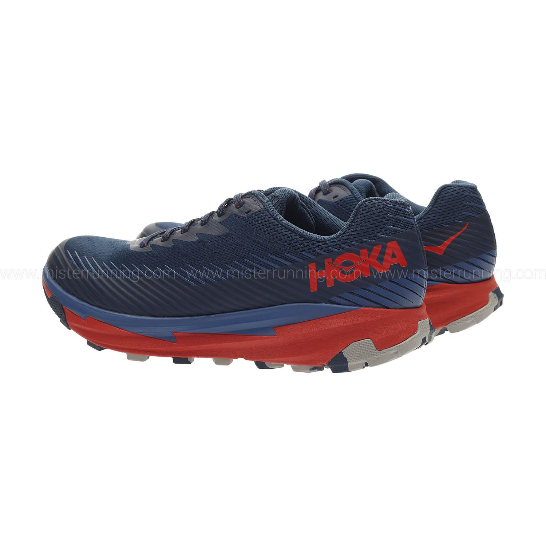Hoka One One Torrent 2 - Moonlit Ocean/High Risk Red