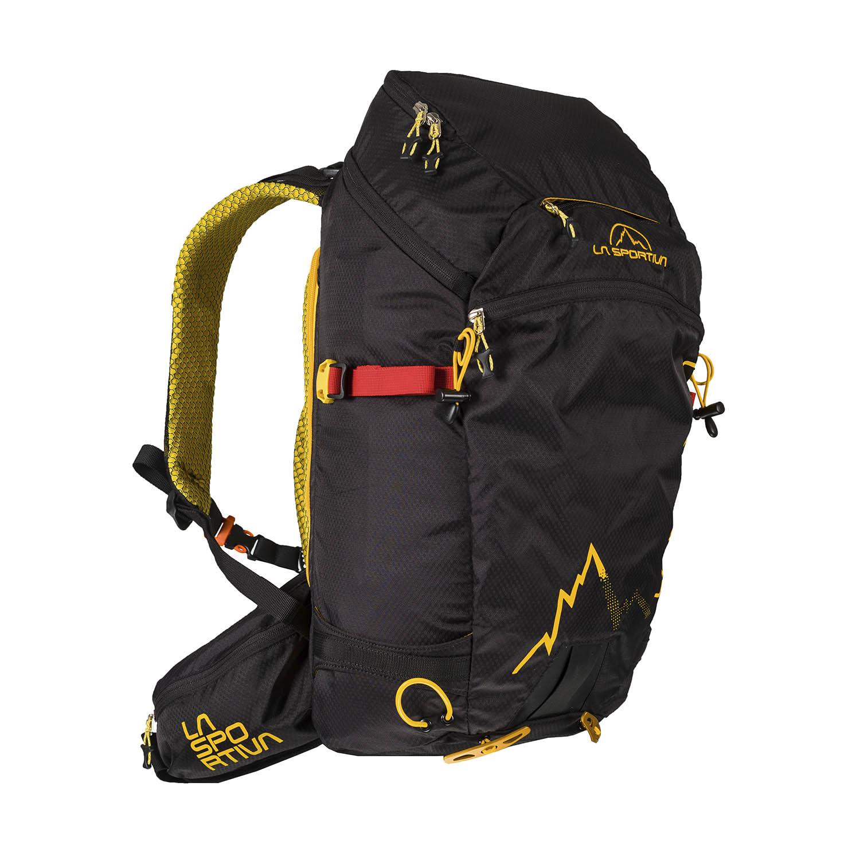 La Sportiva Moonlite Backpack - Black/Yellow