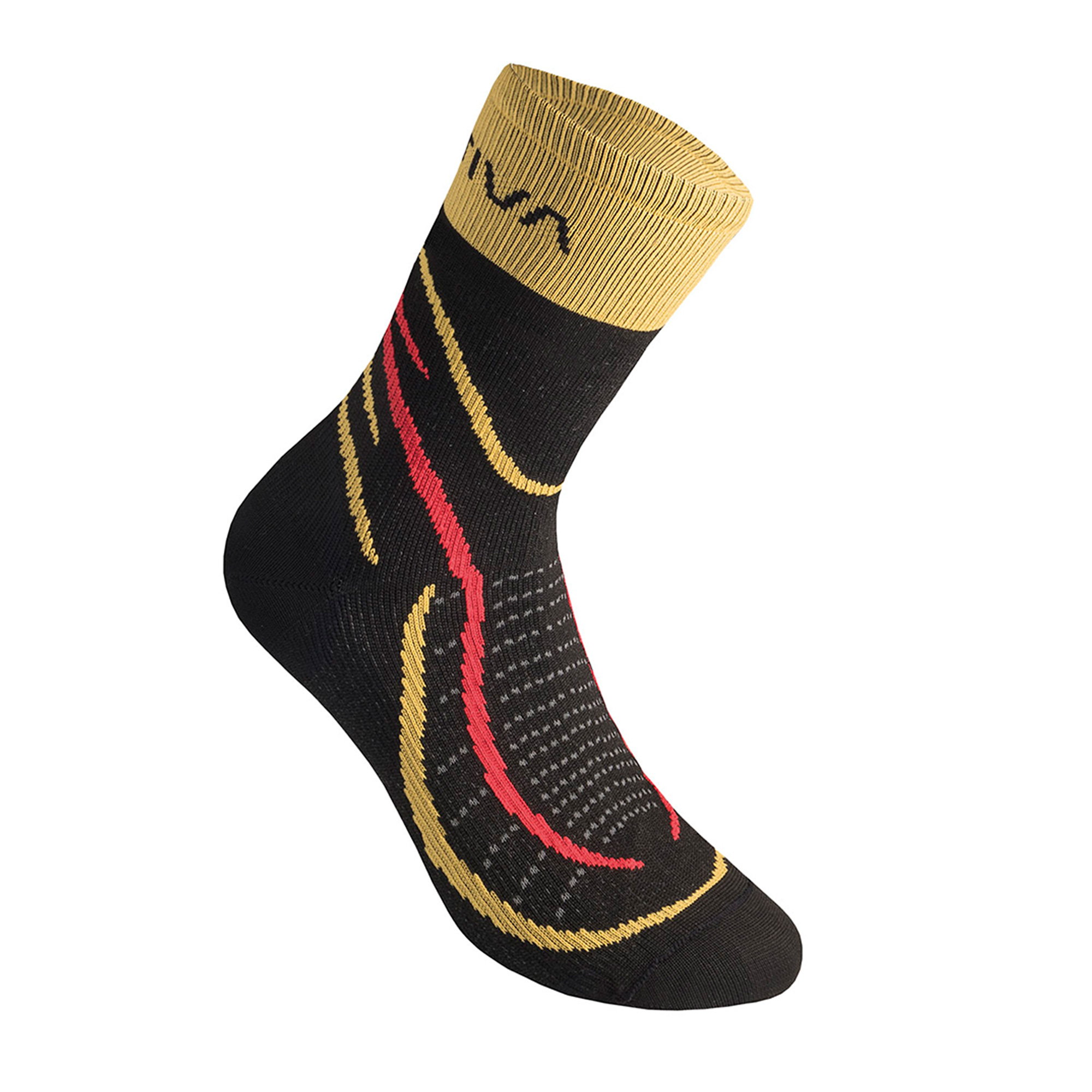 La Sportiva Sky Socks - Black/Yellow