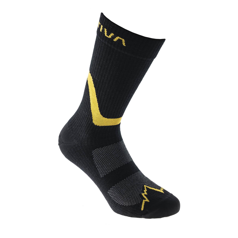La Sportiva Hiking Calze - Black/Yellow