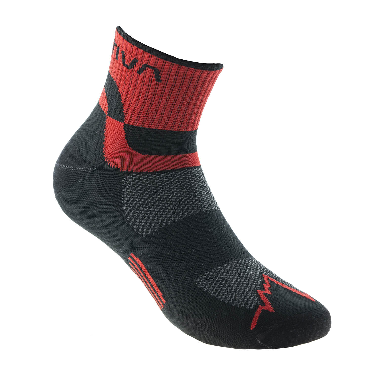 La Sportiva Mountain Calze - Black/Red