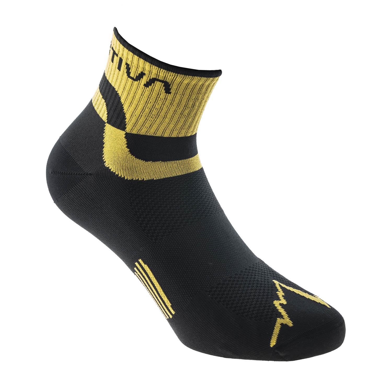 La Sportiva Mountain Calze - Black/Yellow