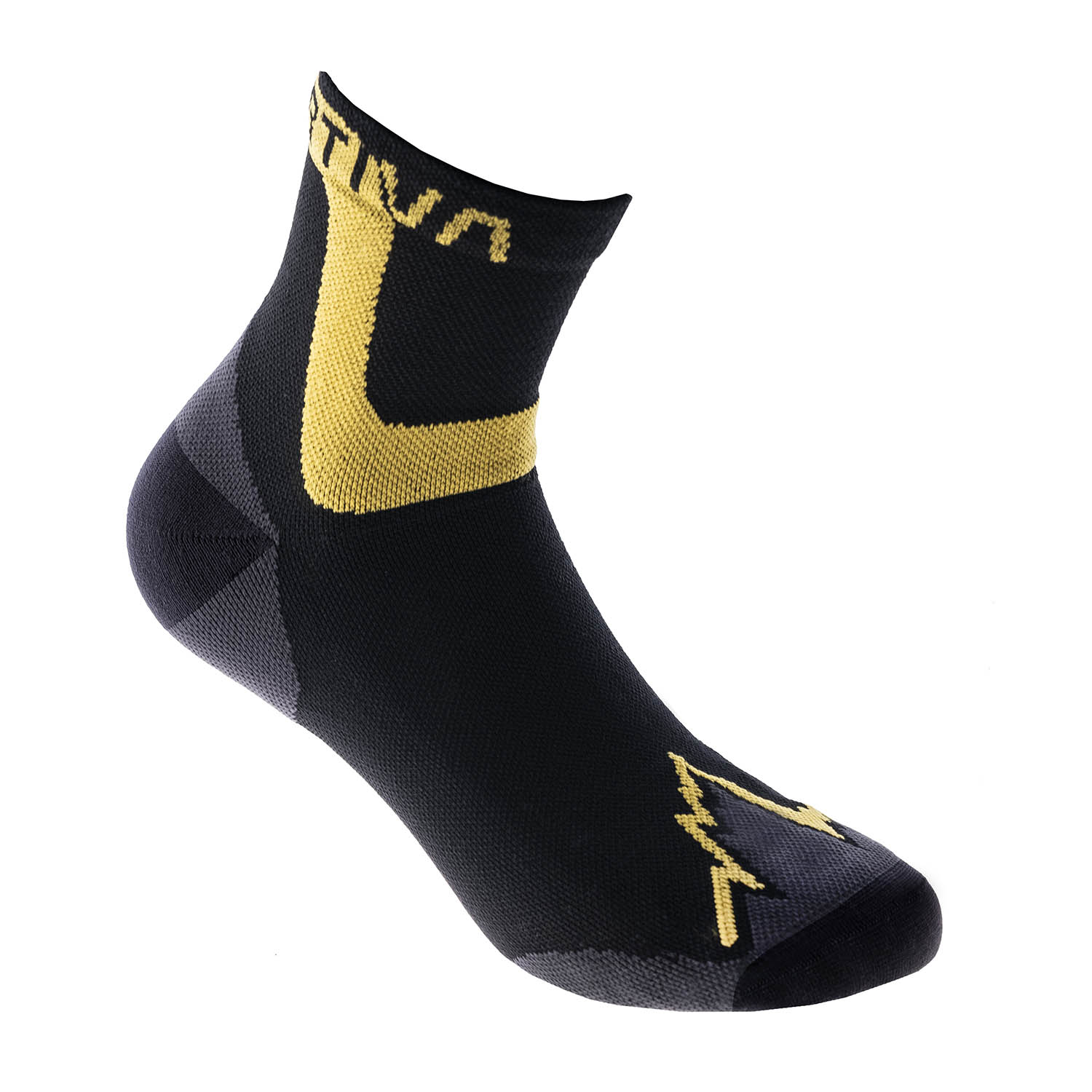 La Sportiva Ultra Calcetines - Black/Yellow