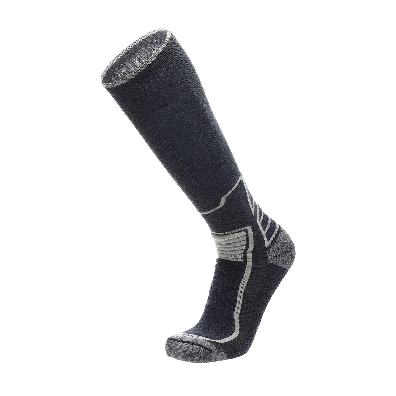 Mico Natural Merinos Trek High Socks - Blu Melange