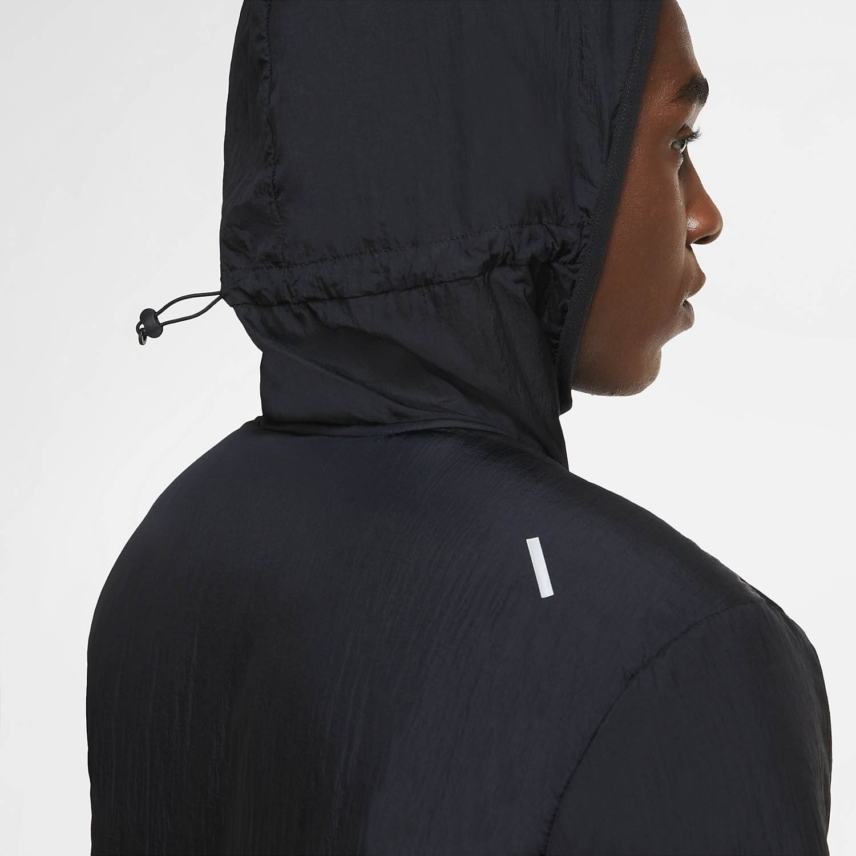 Nike Aerolayer Jacket - Black/Reflective Silver