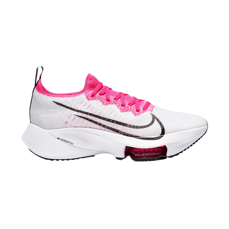 Nike Air Zoom Tempo Next% - White/Black/Pink Blast