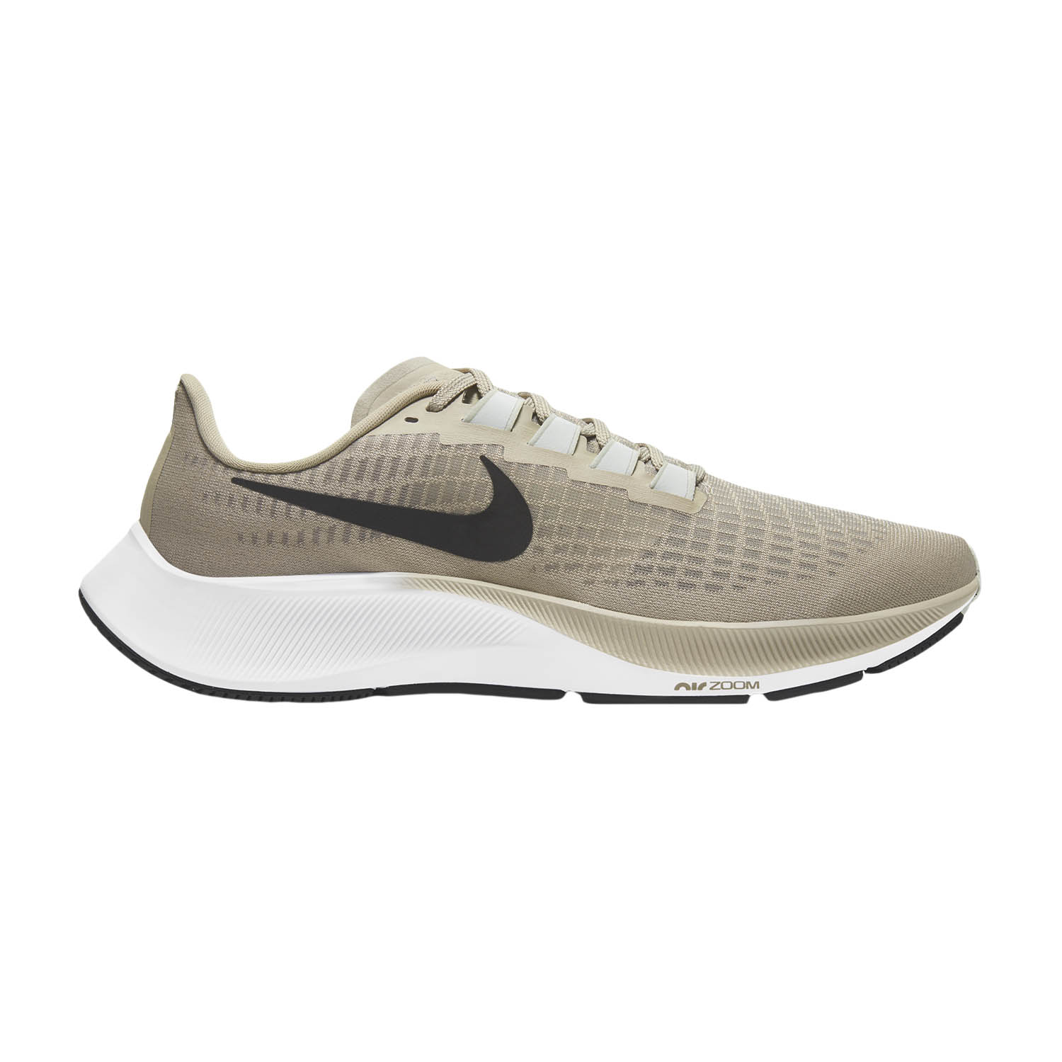 Nike Air Zoom Pegasus 37 - Stone/Black/Light Army/Off Noir