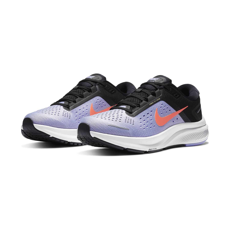 Nike Air Zoom Structure 23 - Indigo Haze/Bright Mango/Black