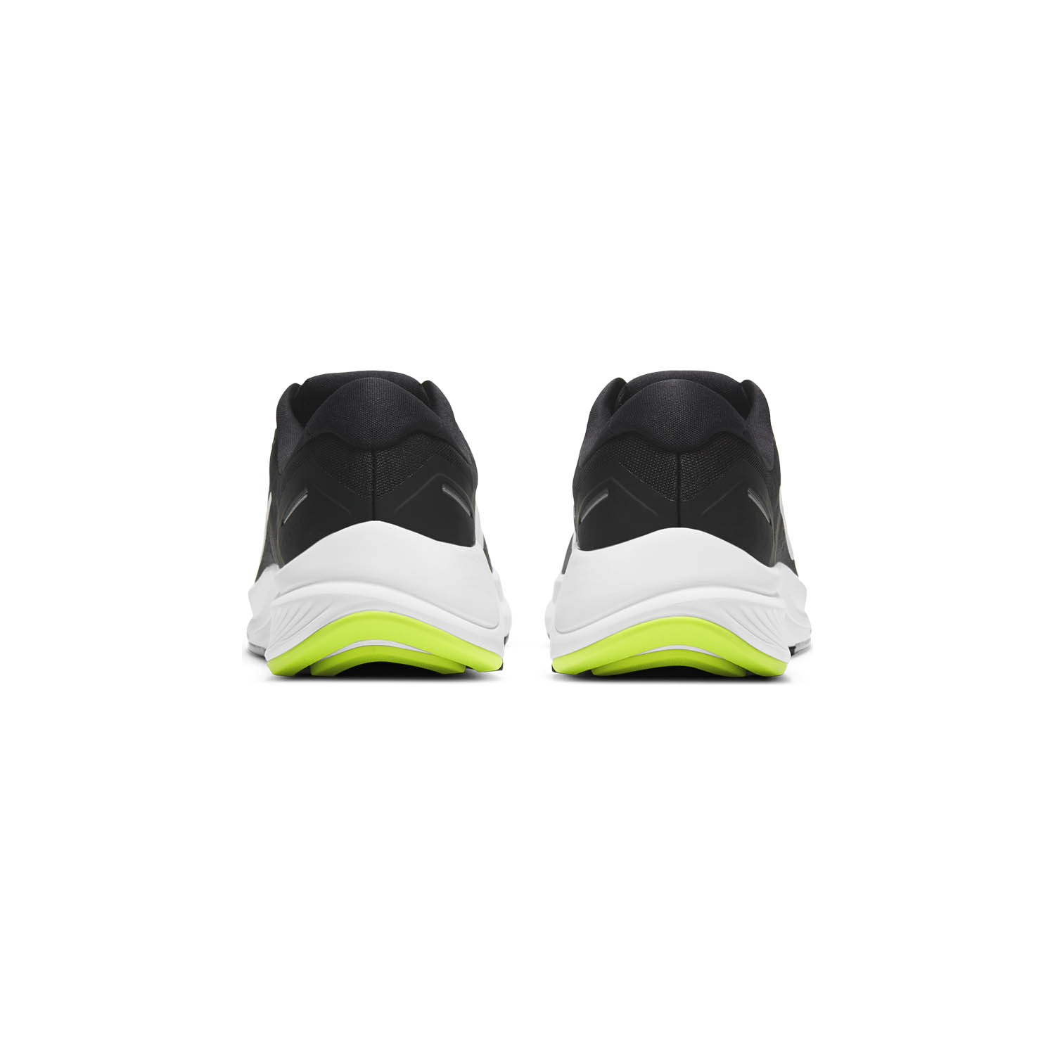 Nike Air Zoom Structure 23 - Black/Metallic Silver/Volt/Anthracite