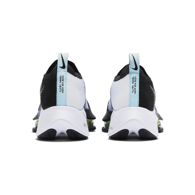 Nike Air Zoom Tempo Next% - Black/Glacier Ice/White/Barely Volt