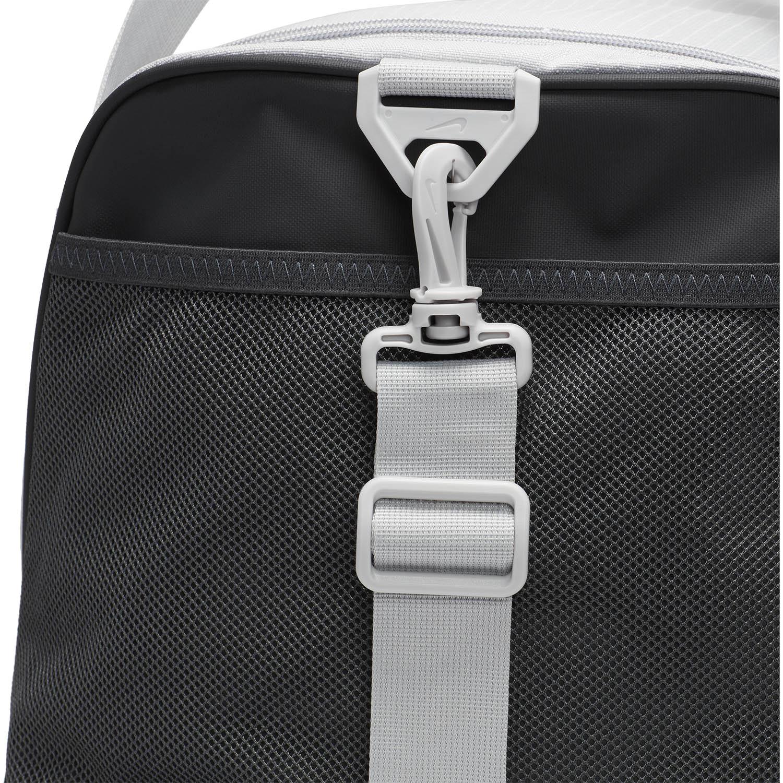 Nike Brasilia Medium Duffle - Light Smoke Grey/Dark Smoke Grey/Black