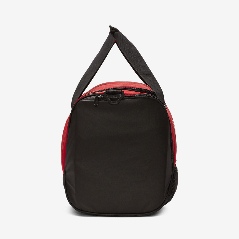 Nike Brasilia Medium Duffle - University Red/Black/White