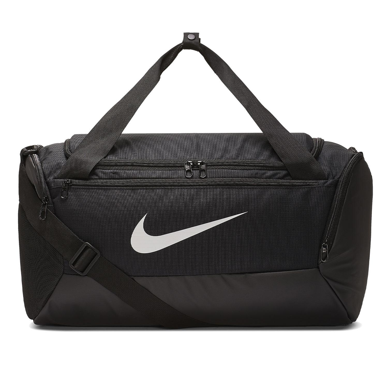 Nike Brasilia Small Duffle - Black/White