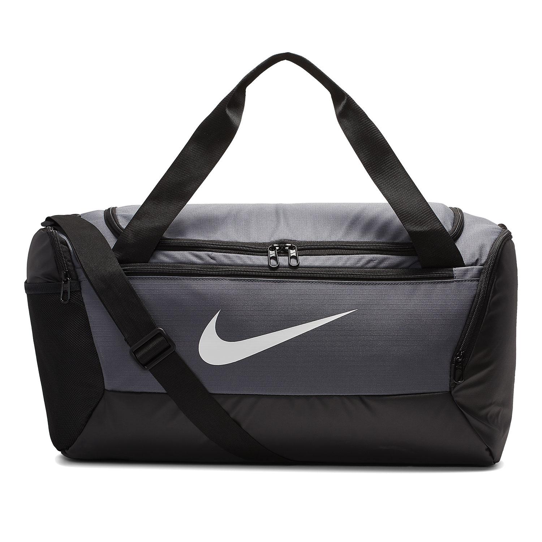 Nike Brasilia Small Duffle - Flint Grey/Black/White