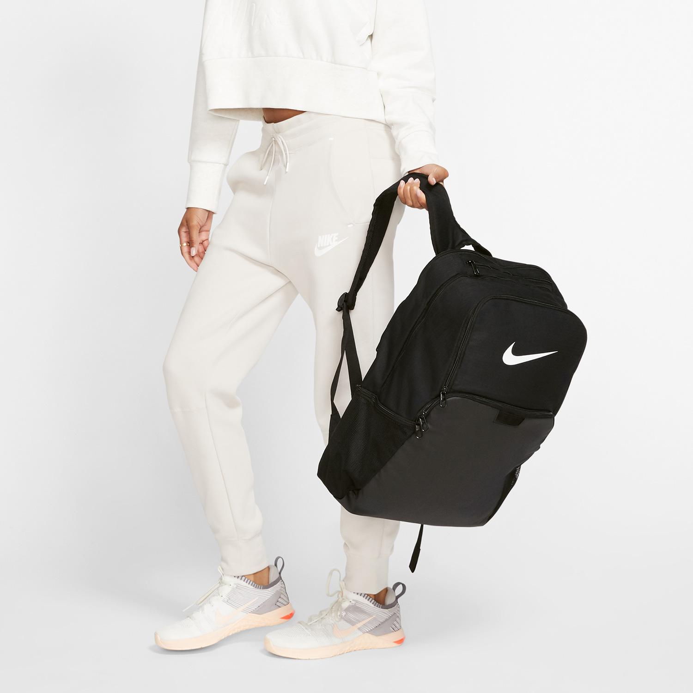 Nike Brasilia XL Mochila - Black/White