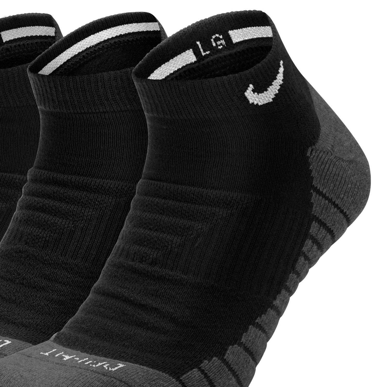 Nike Everyday Max Cushioned x 3 Socks - Black/Anthracite/White