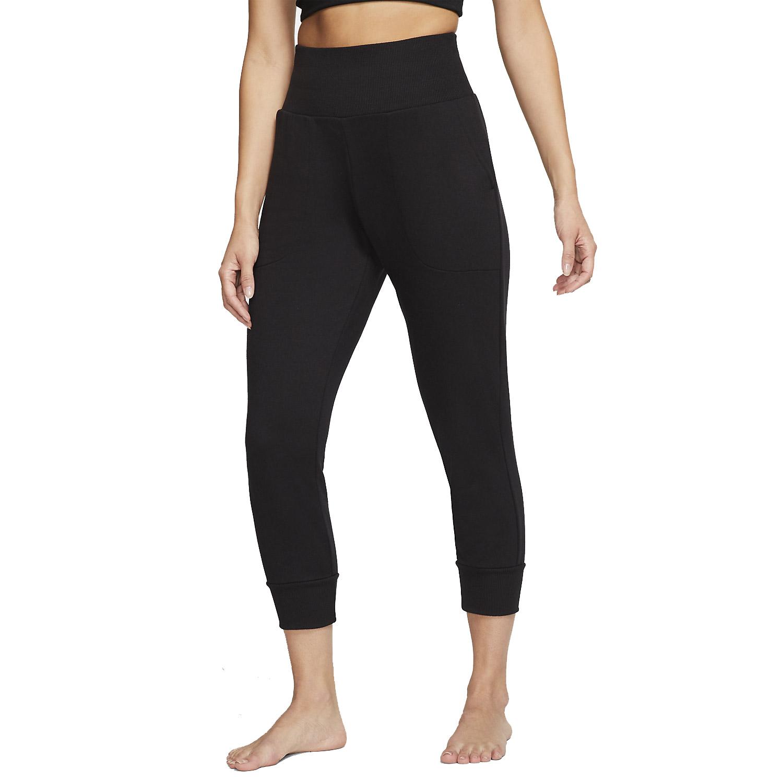 Nike Yoga Flow 7/8 Pants - Black/Dark Smoke Grey