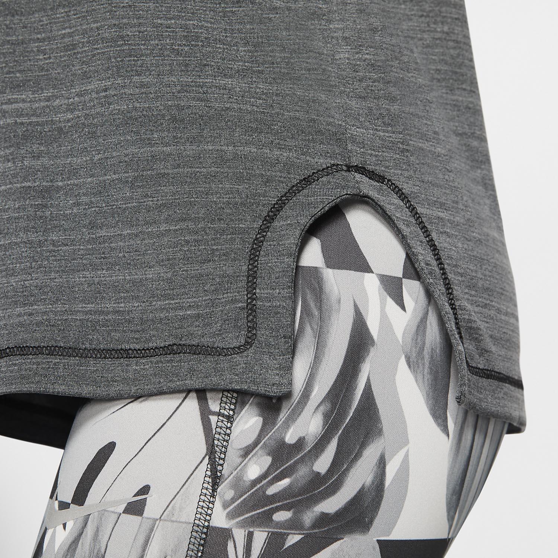 Nike Icon Clash Tank - Black/Heather/Smoke Grey/White