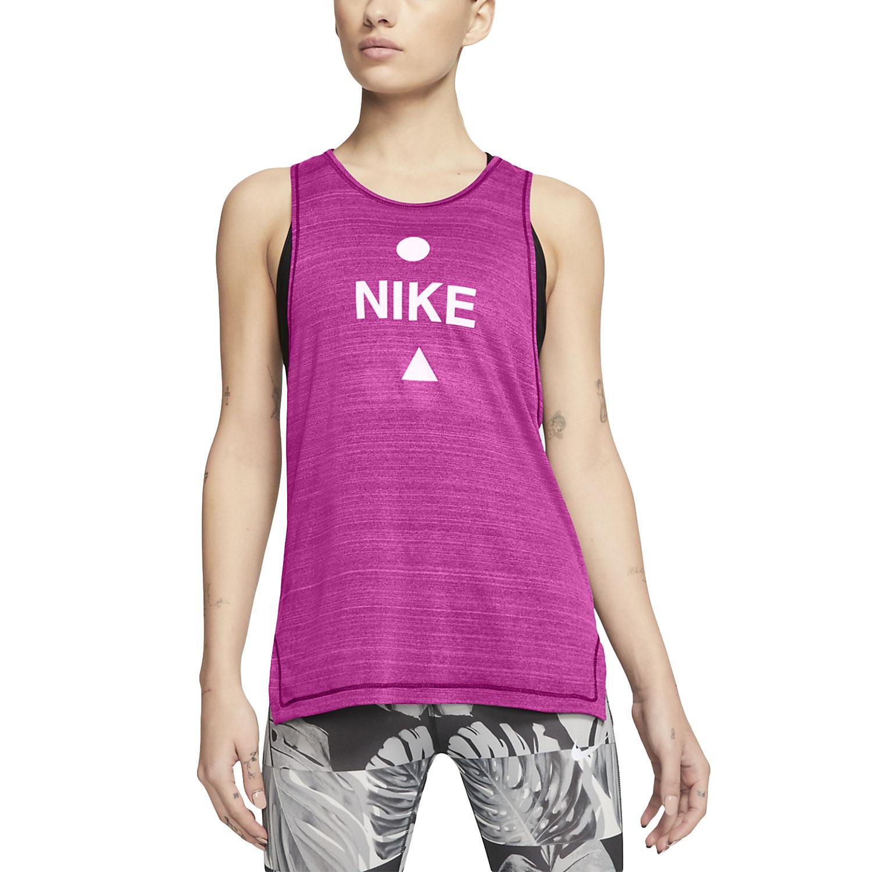 Nike Icon Clash Tank - Fire Pink/Heather/Magic Flamingo/White