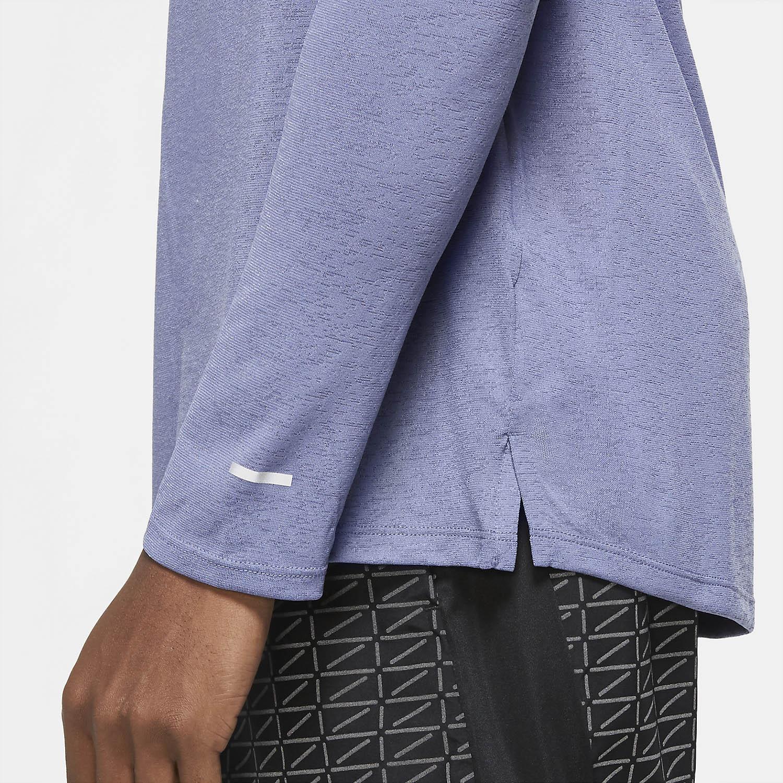 Nike Miler Run Division Shirt - World Indigo/Reflective Silver