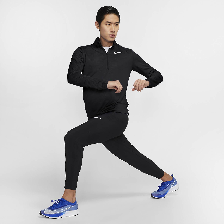 Nike Pacer Shirt - Black/Reflective Silver