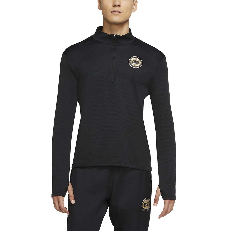 Nike Pacer Wild Run Shirt - Black/Reflective Silver