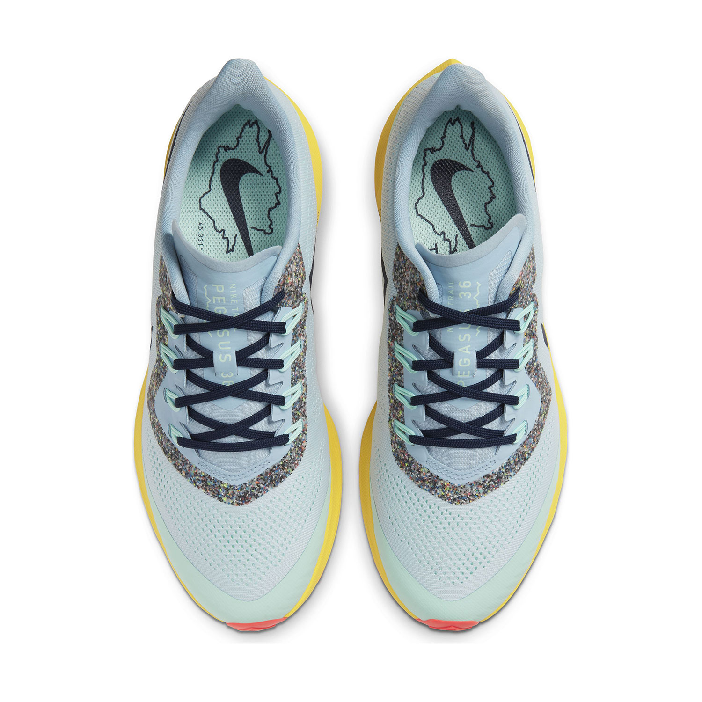 Nike Air Zoom Pegasus 36 Trail - Aura/Blackened Blue/Light Armony Blue