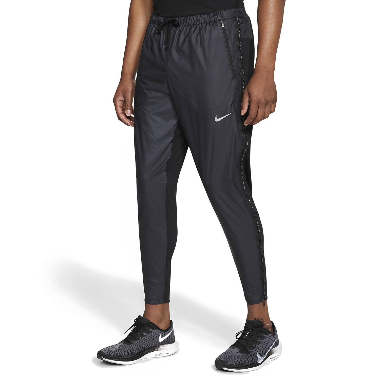 Nike Phenom Elite Shield Run Division Pants - Black/Reflective Silver