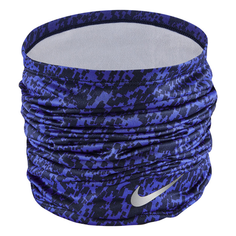 Nike Printed Dri-FIT Calentador de Cuello - Astronomy Blue/Silver