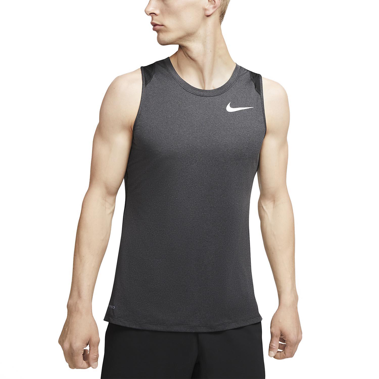 Nike Pro Breathe Tank - Black/White