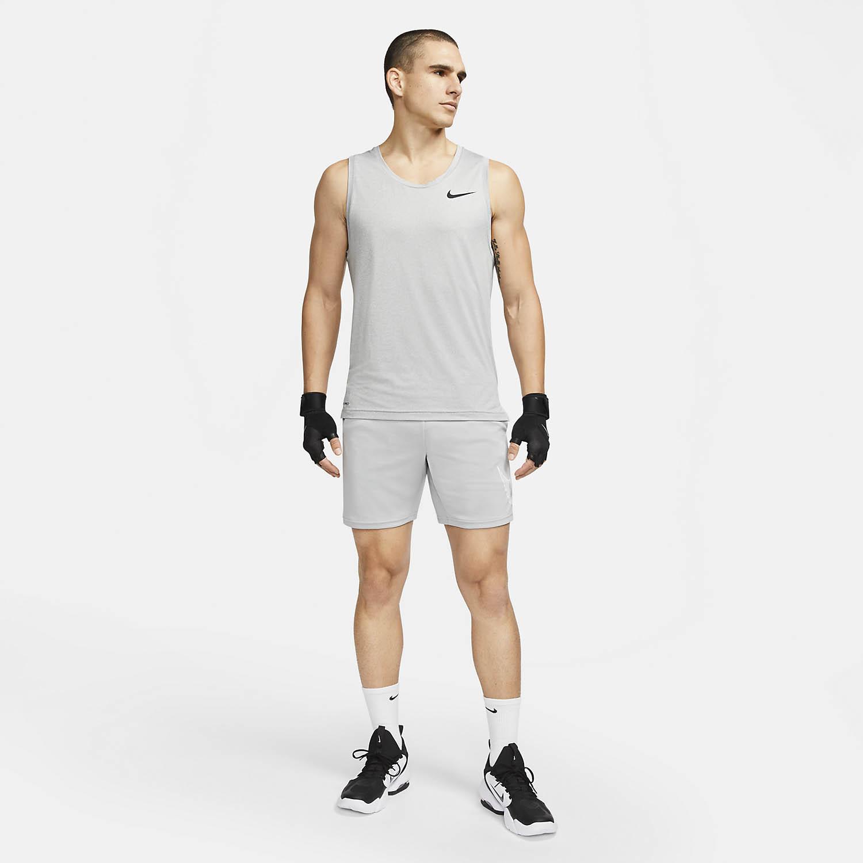 Nike Pro Tank - Smoke Grey/Light Smoke Grey/Heater/Black