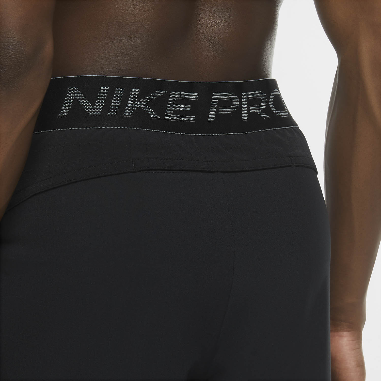 Nike Pro Flex Rep Pants - Black/Bright Crimson